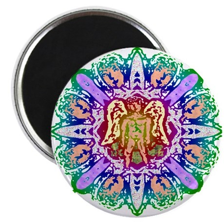 "Faery Flower 2.25"" Magnet (100 pack)"