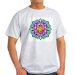 Faery Flower Ash Grey T-Shirt