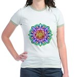 Faery Flower Jr. Ringer T-Shirt