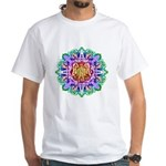 Faery Flower White T-Shirt