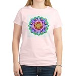 Faery Flower Women's Pink T-Shirt