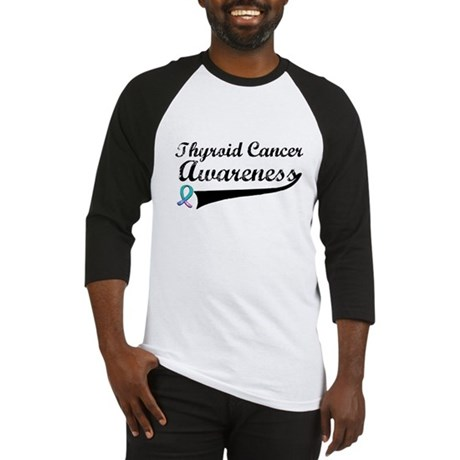 Thyroid Cancer Awareness Baseball Jersey