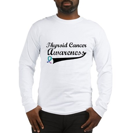 Thyroid Cancer Awareness Long Sleeve T-Shirt