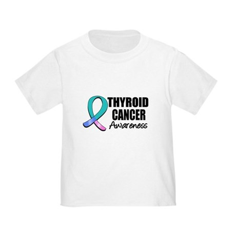 Thyroid Cancer Awareness Toddler T-Shirt