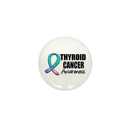 Thyroid Cancer Awareness Mini Button