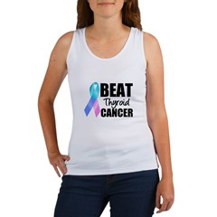 Beat Thyroid Cancer Women's Tank Top