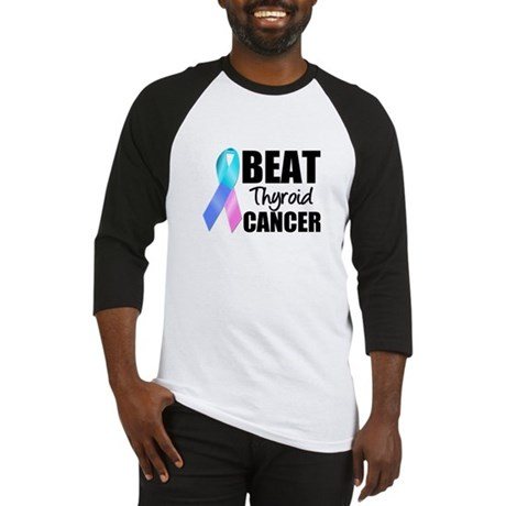 Beat Thyroid Cancer Baseball Jersey