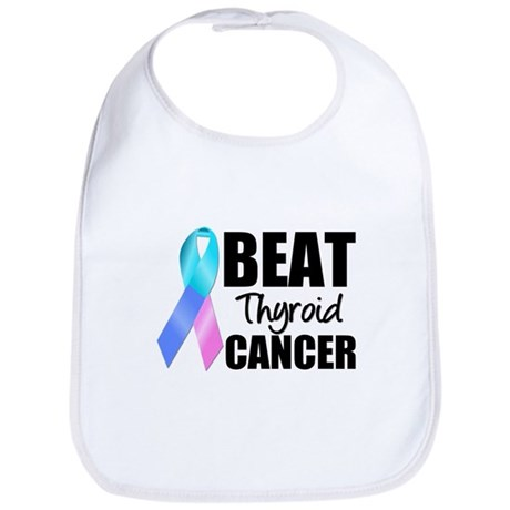 Beat Thyroid Cancer Bib