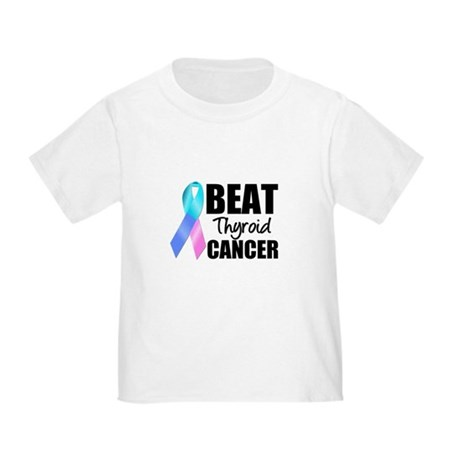 Beat Thyroid Cancer Toddler T-Shirt
