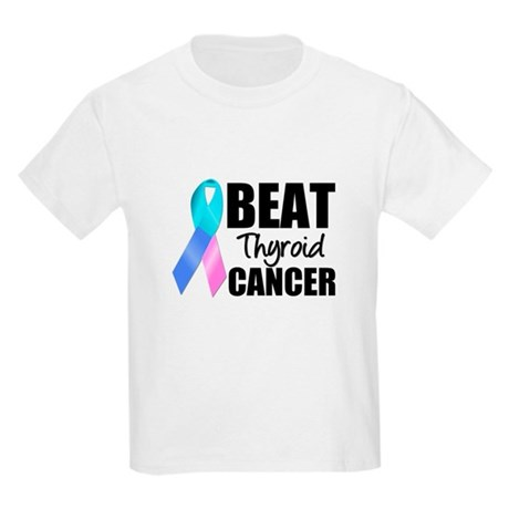 Beat Thyroid Cancer Kids Light T-Shirt
