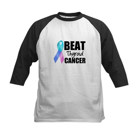 Beat Thyroid Cancer Kids Baseball Jersey