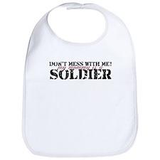 Cute Army soldier Bib