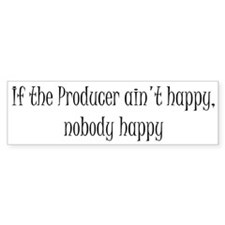 Producer happy Bumper Sticker (50 pk)