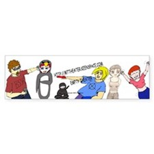 Empty Theater Crew bumper sticker Bumper Bumper Sticker