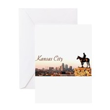 Kansas City Scout - Greeting Card