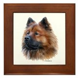 Eurasier Framed Tile