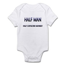Half Man Half Capuchin Monkey Infant Bodysuit