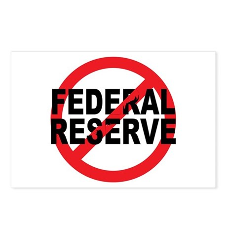 NO Federal Reserve Postcards (Package of 8)