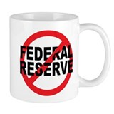 NO Federal Reserve Coffee Mug