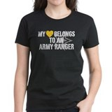 My Heart Belongs to an Army Ranger Tee