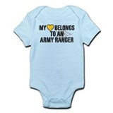 My Heart Belongs to an Army Ranger Onesie