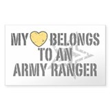 My Heart Belongs to an Army Ranger  Aufkleber