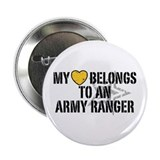 My Heart Belongs to an Army Ranger 2.25&quot; Button