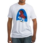Draft Horse Play Fitted T-Shirt