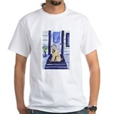 Wheaten waits at door Shirt