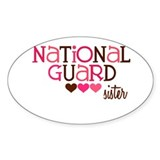 NG Sister Oval Decal