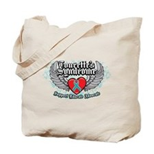 Tourette's Syndrome Wings Tote Bag