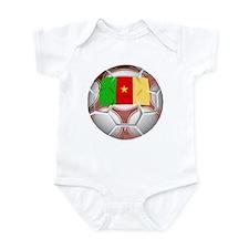 Cameroon Soccer Infant Bodysuit