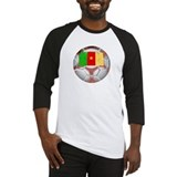 Cameroon Soccer Baseball Jersey