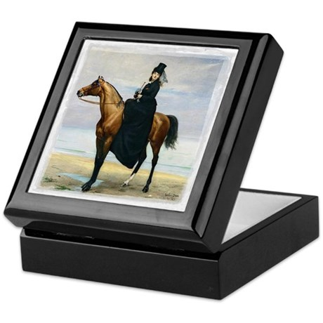 Equestrian Portrait Keepsake Box
