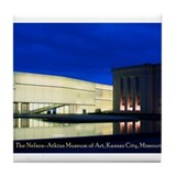 Nelson-Atkins at Night Tile Coaster