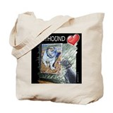 Greyhound Love Tote Bag