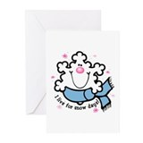 Snowflake Snow Days Greeting Cards (Pk of 20)