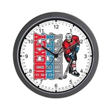 Hockey Sport Wall Clock