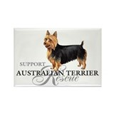 Australian Terrier Rescue Rectangle Magnet