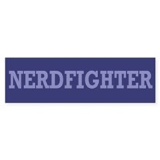 Nerdfighter - Bumper Car Sticker