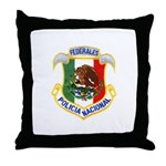 Federales Throw Pillow