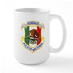 Federales Large Mug