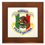 Federales Framed Tile