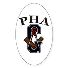 PHA Square and Compass Decal