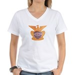 Clark County Jeep Posse Women's V-Neck T-Shirt