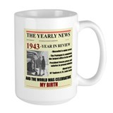 born in 1943 birthday gift Mug