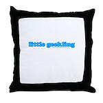 Little Geekling Throw Pillow