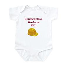 Construction Workers Kid Infant Bodysuit