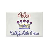 Aidan - Daddy's Prince Rectangle Magnet