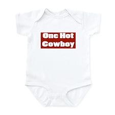 ONE HOT COWBOY Onesie